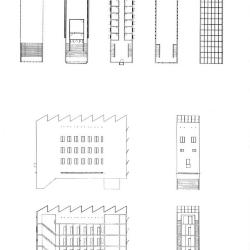Plans and sections, transient hotel.