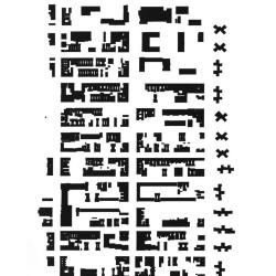 Site plan; city /sieve, 14th street to Houston Street, Avenue B to Avenue D.