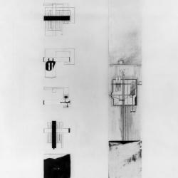 plans and section.