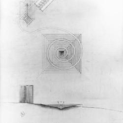 Section and plan drawing.