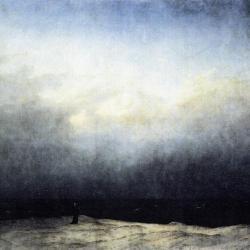 """Monk at the Sea"" by Caspar Friedrich"