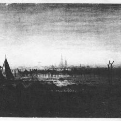 Unknown painting by Caspar Friedrich.