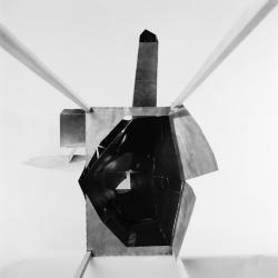 Model, view from below.