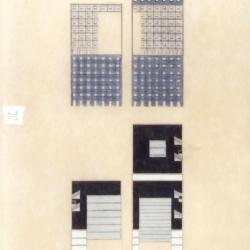 Presentation II: preliminary design, axonometric - complete drawing.