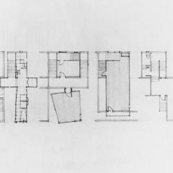 Partial plans of units.