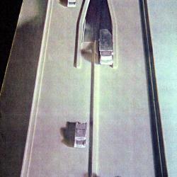 West Side Highway model, detail