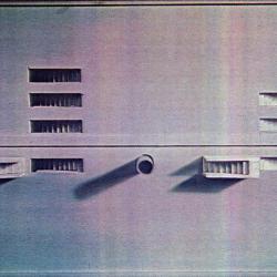 West Side Highway model, detail.