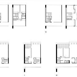 Plans, housing units.
