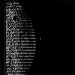 Earth behind moon.