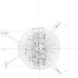 Veronica-labyrinth overlay.