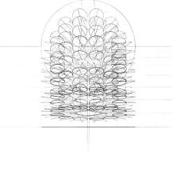 Projection of Rose to Labyrinth.