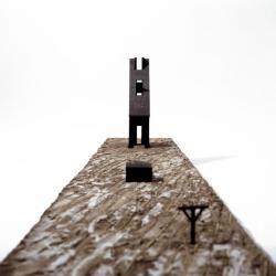 Model, Chapel of Lead Shadow Poems.