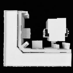 Model, plan view.