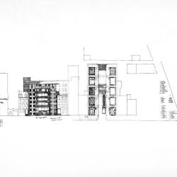 Elevation and site plan.