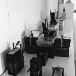Models, installation view.