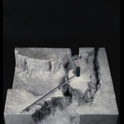 Model, oblique view